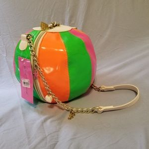 Betsey Johnson Beach Ball purse